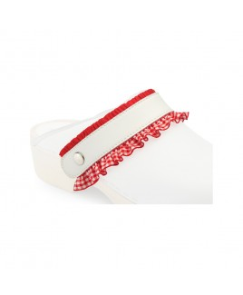 Click Straps Red Frill