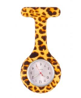 Siliconen Horloge Verpleegkundige Luipaard