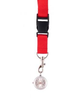 Lanyard/Keycord Horloge Rood